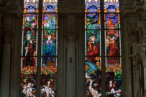 Church stained-glass windows