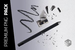 4 LAYERS – EYELINER PENCIL PNG IMAGE