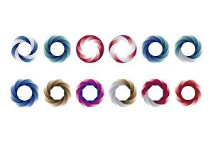 Circles - circular logo templates