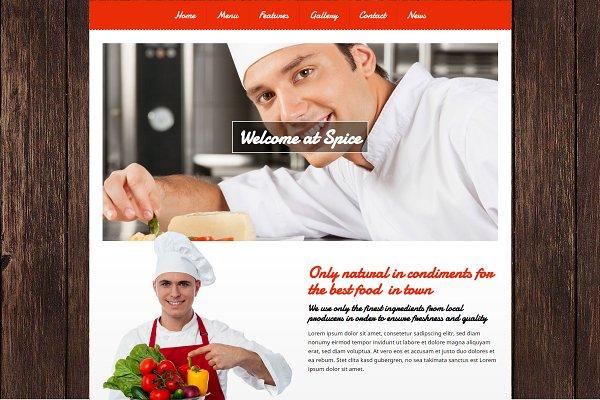 Spice - Bistro WordPress Theme