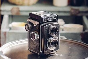 Yashicaflex vintage camera