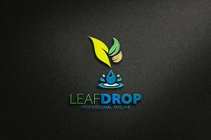 Leaf Drop Logo