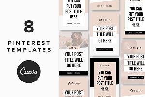 Pinterest Templates: Derive