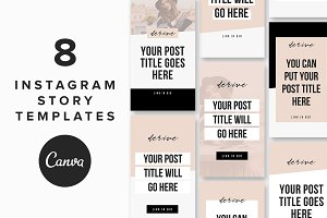 Instagram Story Templates: Derive