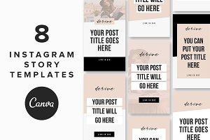 Instagram Story Templates: Derive