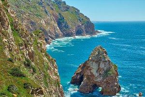 Cascais, Cabo da Roca scenic shore