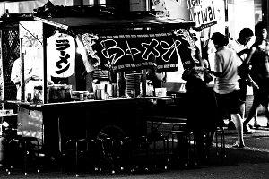 Ramen stall