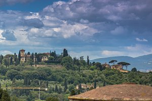 View from Forte Belvedere, Florence