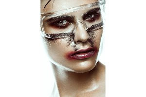 art man make up