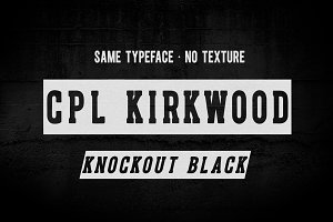 CPL KIRKWOOD SLAB KNOCKOUT