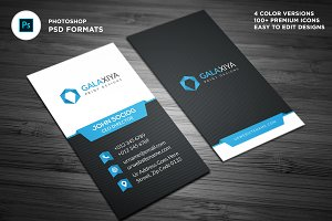 Creative Vertical Business Cards