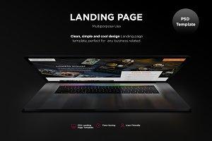 Mvp - Landing Page Multiporpose