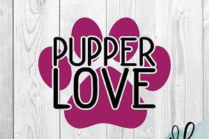 Pupper Love SVG