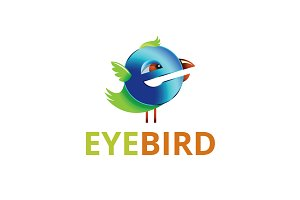 Eye Bird Logo