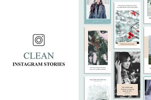 Clean Instagram Stories Banners