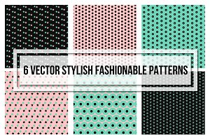 Stylish Fashionable Seamless Pattern