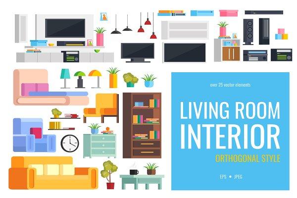 Illustrations and Illustration Products: VitalexShop - Set of living room furniture
