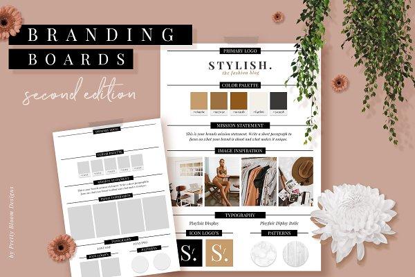 Branding & Mood Board Templates II