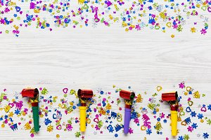 Colorful decoration party pattern