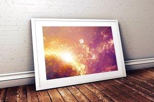 Ultra HQ Background - sun flame