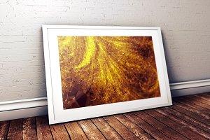 Ultra HQ Background - golden dust