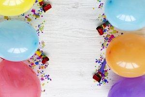 Colorful decoration party concept