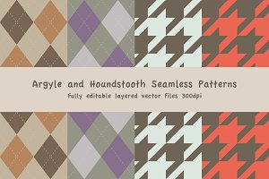 Argyle and Houndstooth Patterns