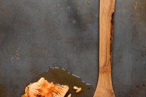Wood Spoon Cantaloupe Seeds