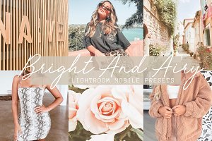 Bright And Airy Mobile Presets