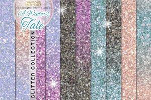 Winter fairy tale glitter collection