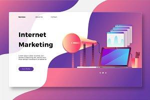 Internet Marketing - Banner & Landin