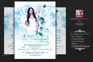 Angels Party Flyer | Poster