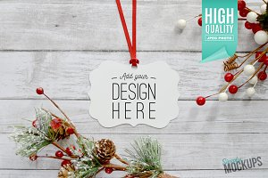 Benelux Ornament Mockup - 1 Sided