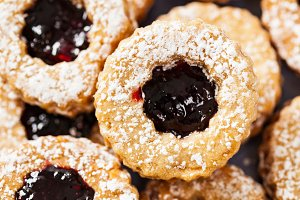 Cookies With Jam Or Jelly Centers