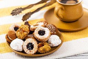 Cookies Background Dessert