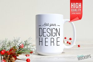 15oz Mug Mockup - 1 Sided