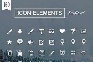 cool icon elements
