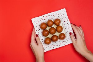 Gulab jamun - indian sweet dish