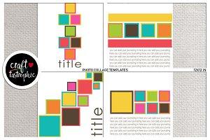 Photo Collage: Framed Blocks