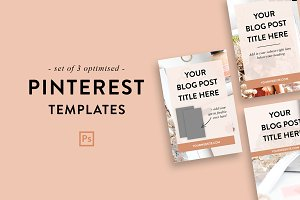 Pinterest Templates | Photoshop