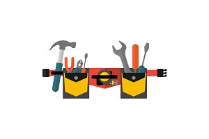 Belt with tools