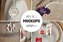 Label Mockups Vol. 1