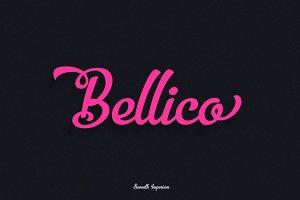 Bellico Typeface +Bonus Pack