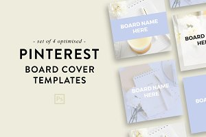 Pinterest Board Covers | Photoshop