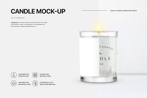 Candle Mock-up