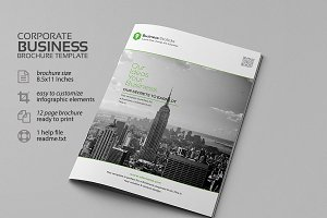 Corporate Business Borchure Template