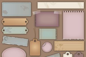 Vintage Paper Vectors and Clipart