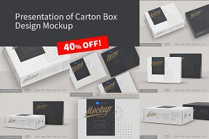 Presentation of Box Design Mockup