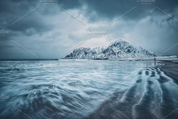 Coast of Norwegian sea