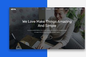 Strix - One Page Multipurposes